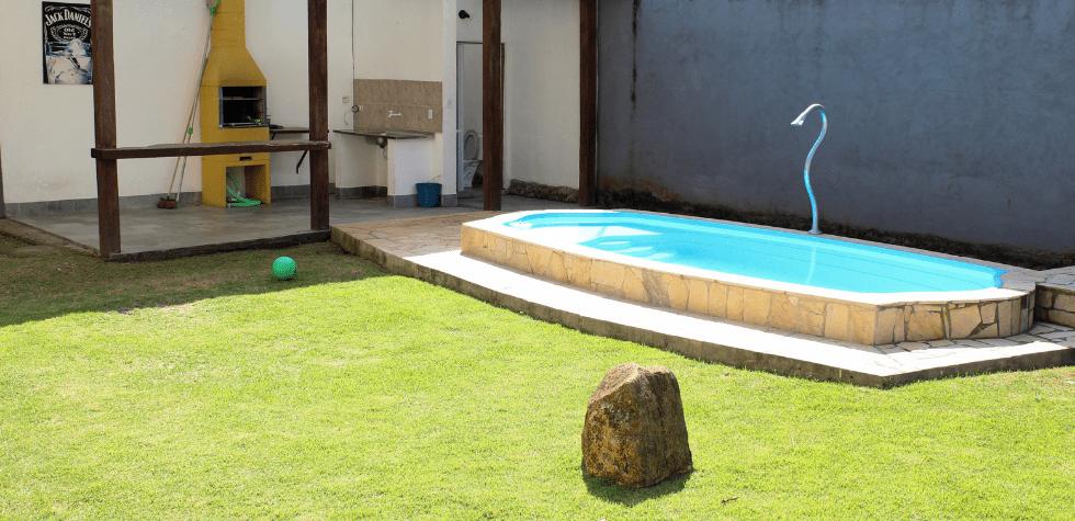 Casa com piscina em Ilhabela piscina