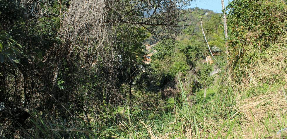 Terreno em Ilhabela na barra frente